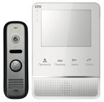 "CTV-DP2400MD комплект видеодомофона 4"" с детектором движения"